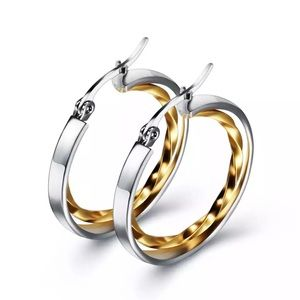 Gold & silver fashion earring for women
